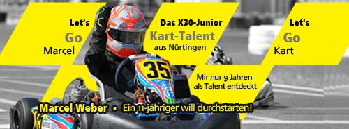Eine Rennsaison 2014 für Marcel, dem Kart-Talent aus Nürtingen
