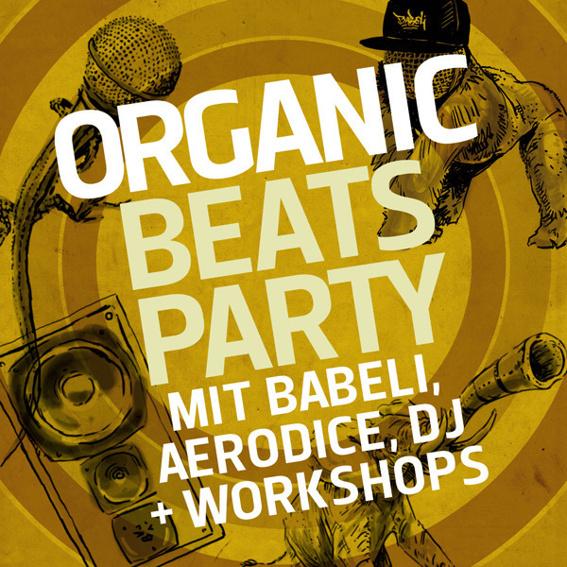 Organic Beats Party + Workshops
