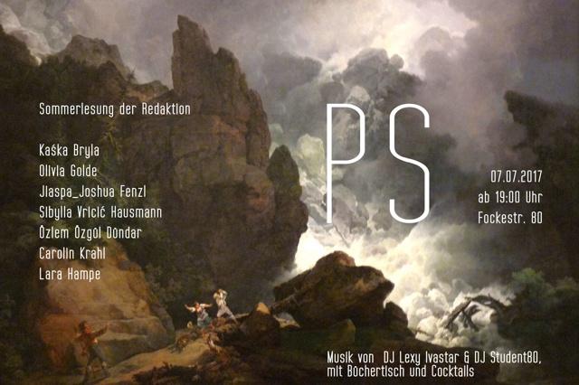 PS #3 »Imagination - Krise - Wirklichkeit«