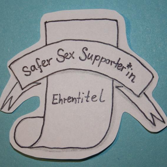 Ehrentitel Safer Sex Supporter*in