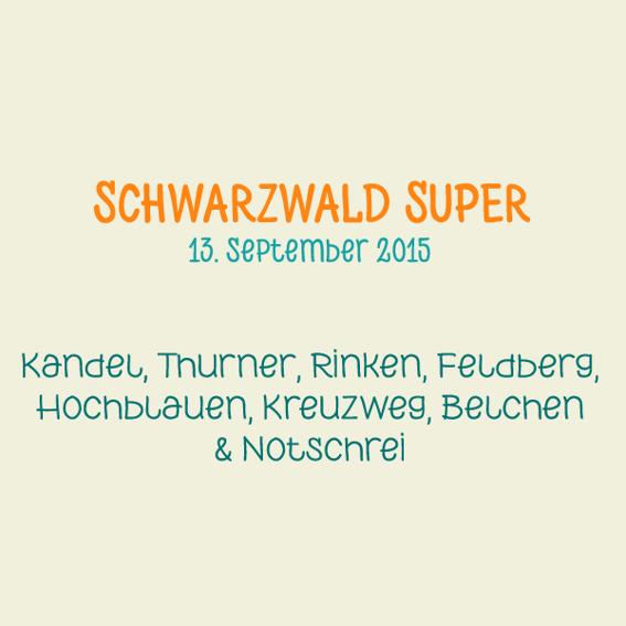Teilnahme am Schwarzwald SUPER! Radmarathon 2015
