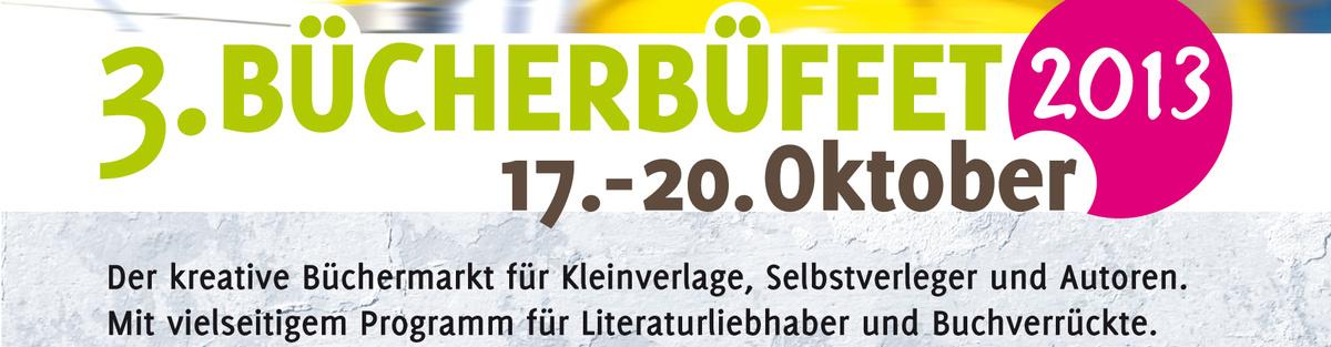 Bücherbüffet 2013, die Karlsruher Buchmesse für Kleinverlage