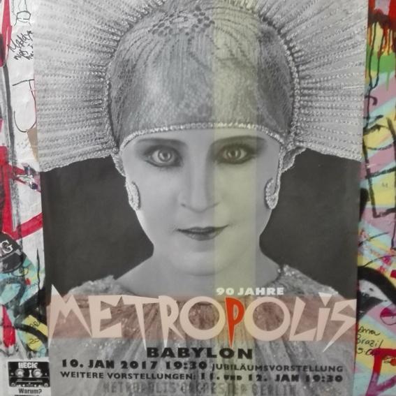 Plakat 90 Jahre Metropolis