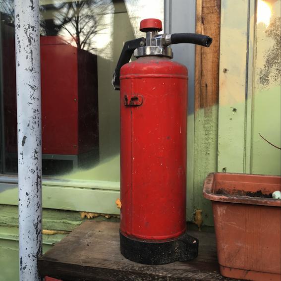 Sponsorship: Fire extinguisher