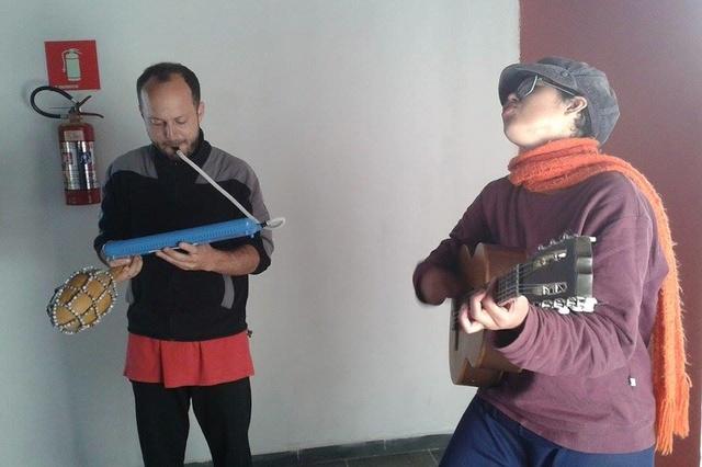 Sozial-ökologisch-musikalische Arbeit in Brasilien