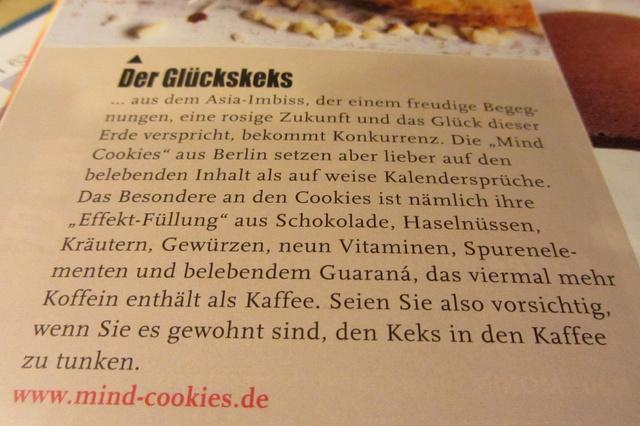 Mind Cookies - Der Keks, der kickt!