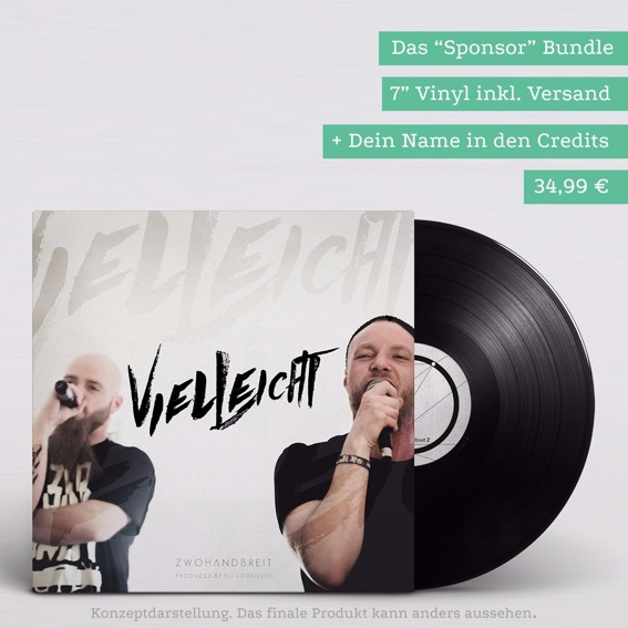 Sponsor (Vinyl + dein Name auf dem Cover)