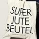 """""""7,1 Leben"""" Jutebeutel"""