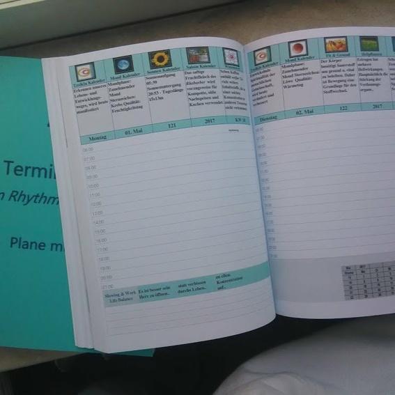 10 Ganzheitlicher Termin Planer - Bunt