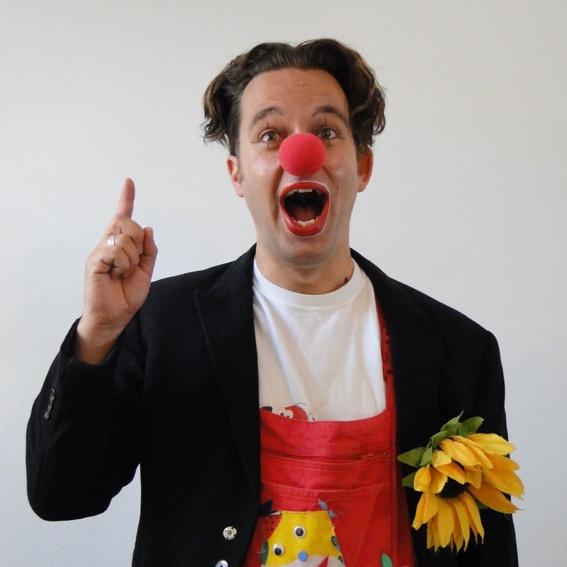 Clownsauftritt