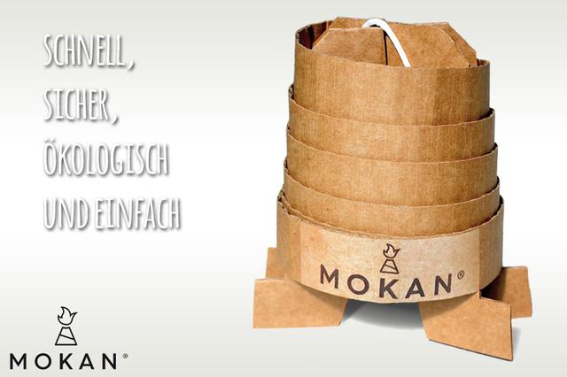 MOKAN – Der geniale Grillanzünder
