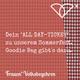 """""""All Day""""-Ticket für das Frauen*Volksbegehren-Sommerfest am 9. Juli 2018"""