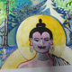 ISARINDIAN PAINTING Alpine Budhha  70:50