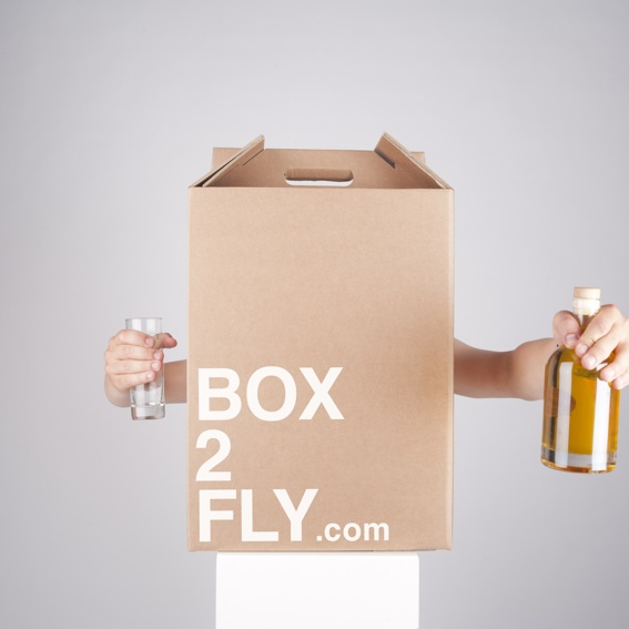 Invitation to the BOX2FLY party