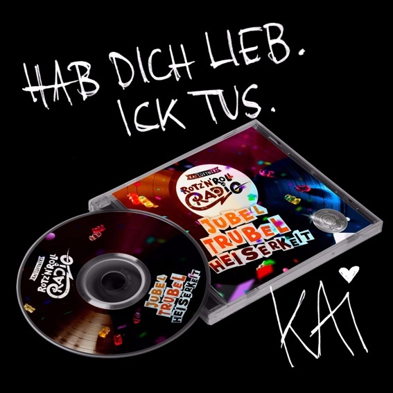 CD mit persönlicher Widmung von Kai