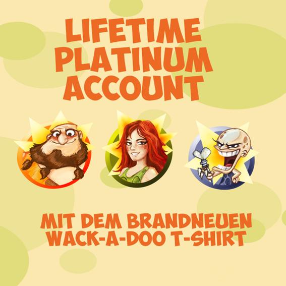 Supporter-Paket mit T-Shirt & Insider-Status + Lifetime-Account + Fanpaket + Startpaket