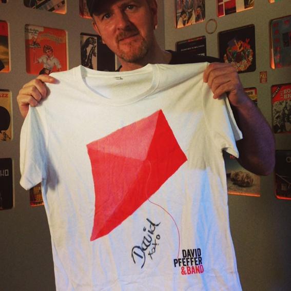 David Pfeffer signiertes T-Shirt