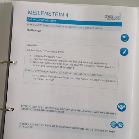 """Kurs 2 Druckversion """" Von der Gründungsidee zum Gründungskonzept"""""""