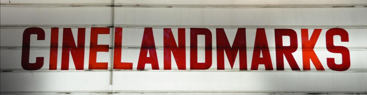 cinelandmarks - Website für Kinos und Kinokultur