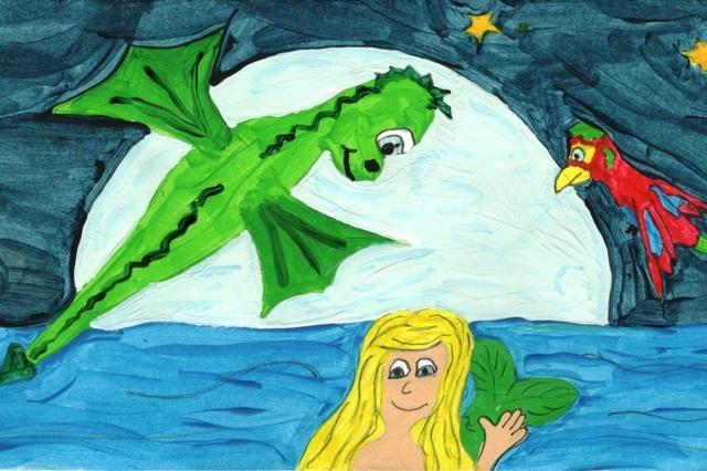 Die Abenteuer von Rehmi dem kleinen Drachen