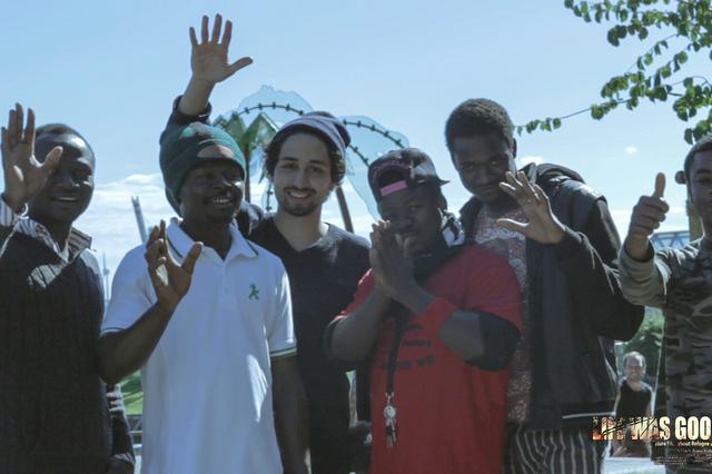 Spielfilm mit Lampedusa Flüchtlingen aus St Pauli
