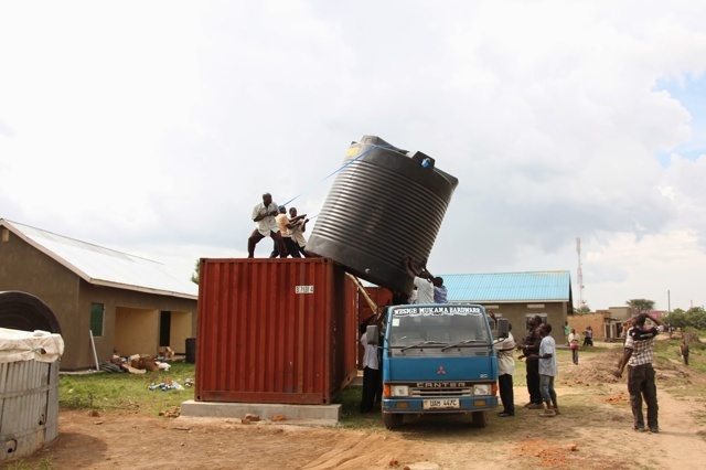 LET THERE BE WATER - A film about the Fontes Foundation Uganda