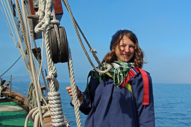 Whydah, the new sailing vessel of the German Youth Movement