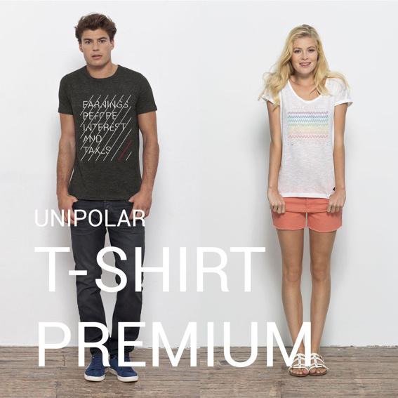 UNIPOLAR Premium T-Shirt deiner Wahl