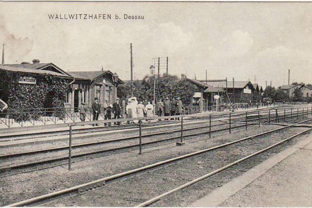 Bahnhof Dessau-Wallwitzhafen|Sanierung des Daches