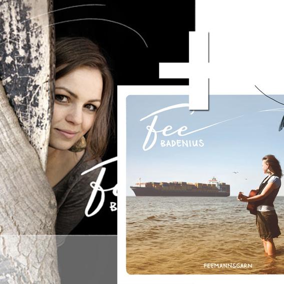 Fee Badenius - Feemannsgarn + signiertes Poster mit Widmung