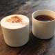 PORZELLAN KAFFEE BECHER 2er der MOIRAS Porzellan Edition