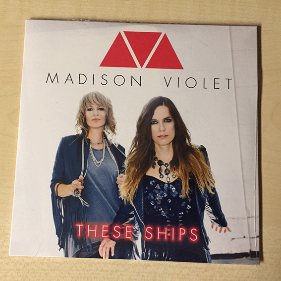 MADISON VIOLET - Promo CD 2014