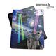 """iPad Cover """"Lasercats"""" von Paprcuts"""