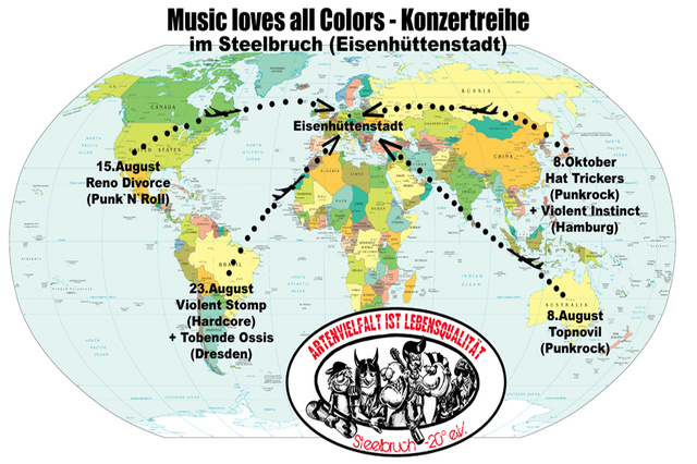 Music Loves All Colors Konzertreihe