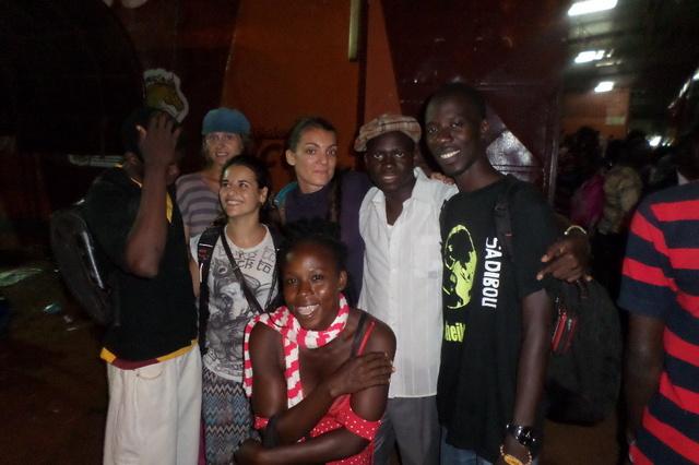 Alle Wege führen nach Afrika- Tanztheater
