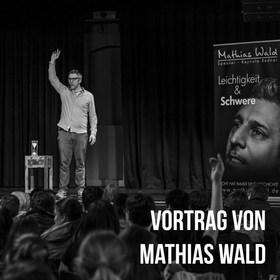 Mathias Wald einen Tag für einen Vortrag in einer Schule/Betrieb in Deiner Nähe buchen.