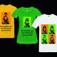 exklusives ABadRa-T-Shirt mit einem der Buddhas