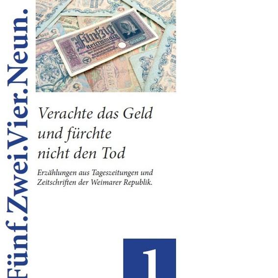 """6 Bücher der Edition """"Fünf.Zwei.Vier.Neun"""""""