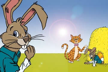 """Kinderbuch """"Minz und das Geheimnis von Ostern"""""""