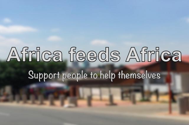 Africa feeds Africa