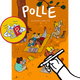 POLLE #1, signiert + Patch