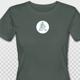 T-Shirt aus biologisch angebauter Baumwolle mit Anjali Yoga Logo