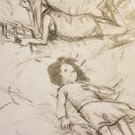 Originalzeichnung (Agnes Lammert)