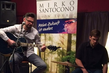 "MIRKO SANTOCONO   ""MEINE ZUKUNFT IST ANDERS"""