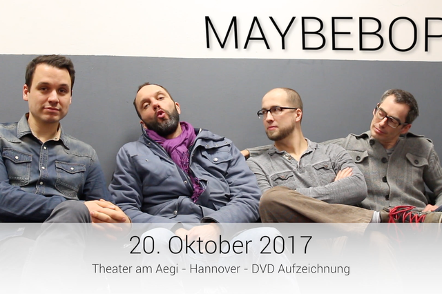 MAYBEBOP LIVE-DVD/CD Sistemfeler
