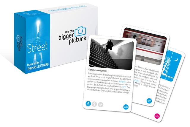 Street Fotografie mit den bigger picture Karten