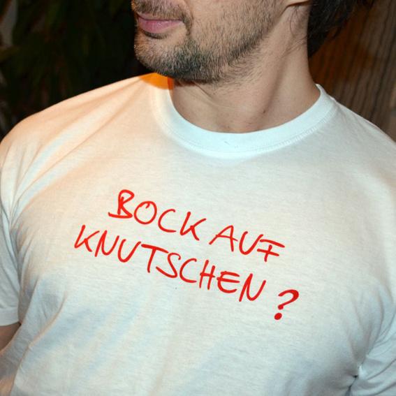 """T-Shirt """"Bock auf knutschen"""""""