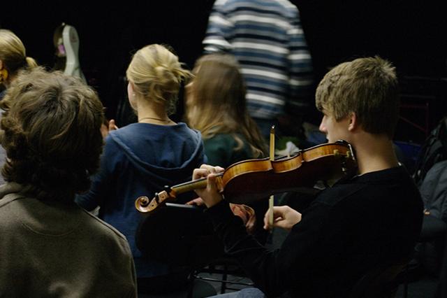 Das Mädchen mit der Violine