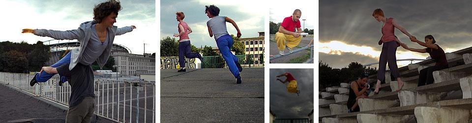 Schräge Wege - Stadt Tanz Parkour