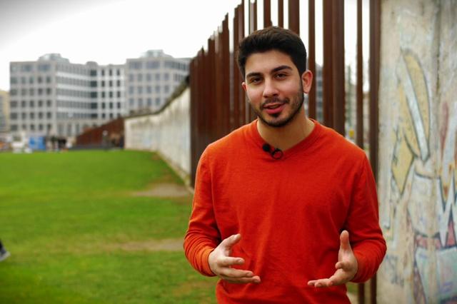 Migrant des Vertrauens
